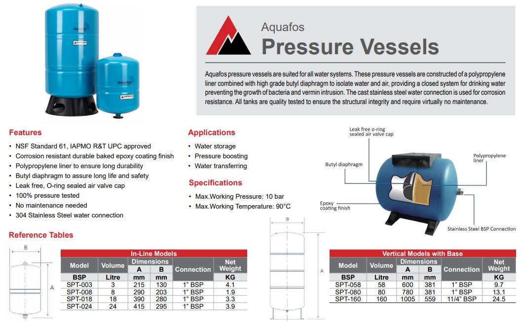 Steel Pressure Tanks